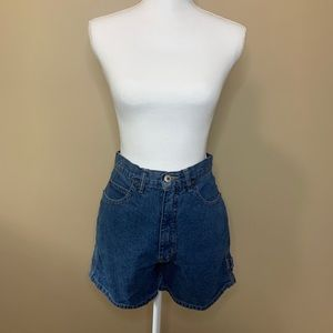 Vintage High Waist Mom Jean Shorts
